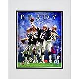 フォトファイル新しいEngland Patriots Tom Brady 2007Mattedフォト