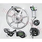 14インチ250W 36Vリアホイールハブモーター電動バイクキットebikeキット電動バイク変換キット