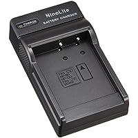 NinoLite USB型 バッテリー 用 充電器 海外用交換プラグ付 DC104/K4/A Casio NP-110 NP-130 NP-130A 対応 チャージャー