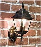 洋風 アンティーク調 ブラケットタイプ ウォールランプ スクエア ブロンズ 壁面用 ライト AZL-10DWL02S-bronze