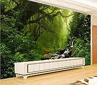Jason Ming カスタム写真壁画壁紙不織布3D森の風景壁絵画リビングルームの寝室の壁装飾壁画壁紙-120X100Cm
