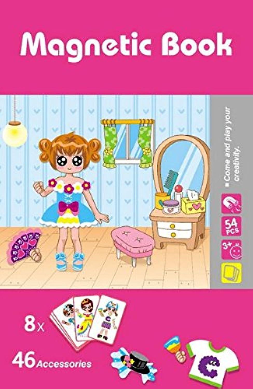 HuaQingPiJu-JP 創造的な木製磁気の教育的なパズルアーリーラーニング番号の形の色の動物のおもちゃ子供のための素晴らしいギフト(陳布敷)