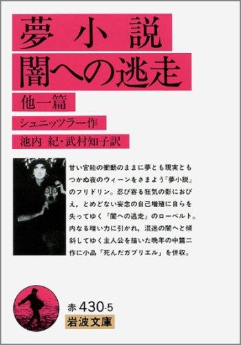 夢小説・闇への逃走 他一篇 (岩波文庫)の詳細を見る