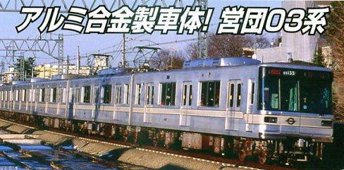 Nゲージ A5071 営団03系 日比谷線 8両セット