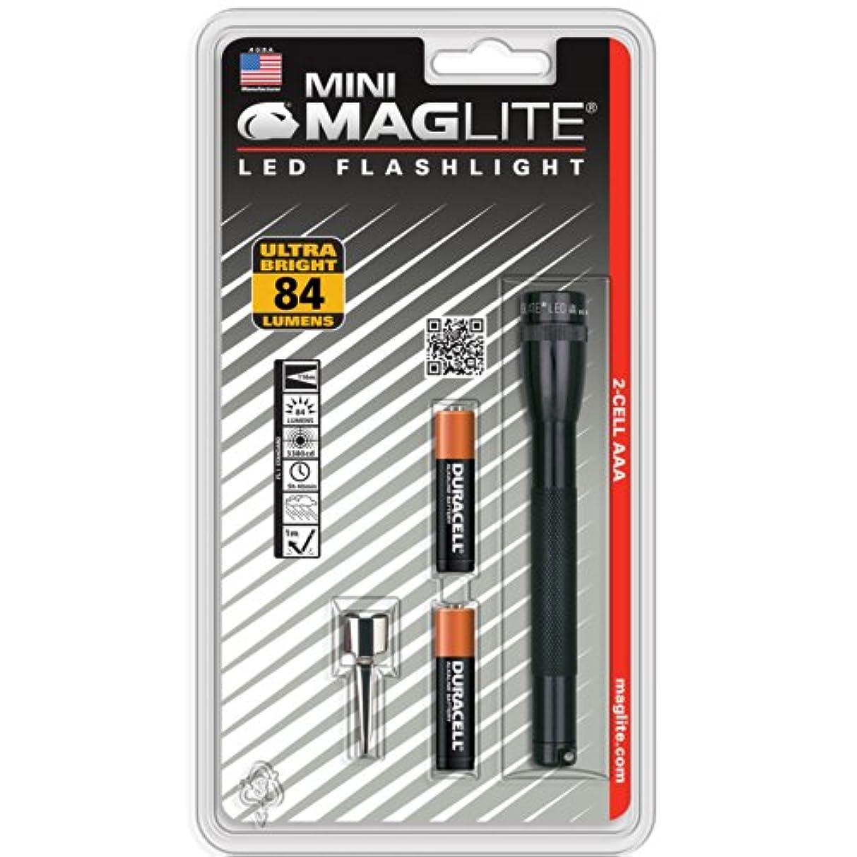 寺院塩辛い抽象化Mini Maglite LED Flashlight by Mag Instrument