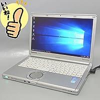 ★即使用可能!中古ノートパソコン★ ★Windows10搭載★ パナソニック Panasonic Let's note(レッツノート) CF-SX2/第3世代Core i5 3320M 2.60Ghz/メモリー 4GB/HDD 250GB/12.1インチ(1600x900)/DVDスーパーマルチドライブ/無線LAN(Wi-Fi)内蔵/Bluetooth内蔵/webカメラ搭載/Microsoft Office 2010搭載/CF-SX2LDWCS