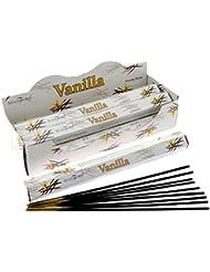 Stamford Vanilla Incense, 20 Sticks x 6 Packs
