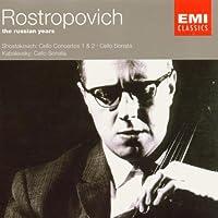 Rostropovich: The Russian Years - Concertos, Sonatas
