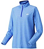 (ヨネックス)YONEX WOMEN スムースハーフジップシャツ(スタンダードサイズ) 38040 112 ダークブルー S