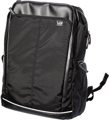 LAGASHA バックパック エルジーコンフォート フォルテ A4対応 ビジネスバッグ ブラック×ホワイト 7047