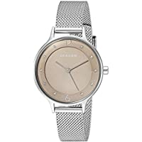 Skagen Women's Quartz Watch analog Display and Stainless Steel Strap, SKW2649