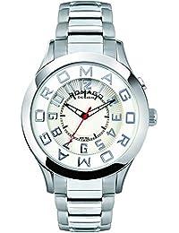 [ロマゴデザイン]ROMAGO DESIGN 腕時計 Attraction series アトラクションシリーズ RM015-0162SS-SVWH 【正規輸入品】