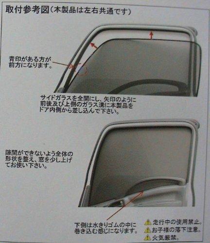 虫除け/遮光用 ECOネット 左右セット 日野2t デュトロ/トヨタ2t ダイナ、トヨエース用