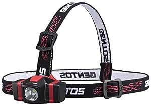 GENTOS(ジェントス) LED ヘッドライト 【明るさ30ルーメン/実用点灯9時間/防塵/防滴】 GD-702D