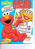 Sesame Street Colour by Number Book