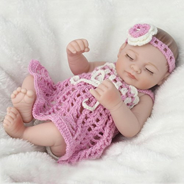 リボーンベビードール、シミュレーション、ソフト、入浴、人形、眠るおもちゃ、生きている赤ちゃんリアルビニールベリー子供おもちゃの子供の誕生日プレゼント