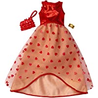 Barbie Fashions Complete Look - Red Dress