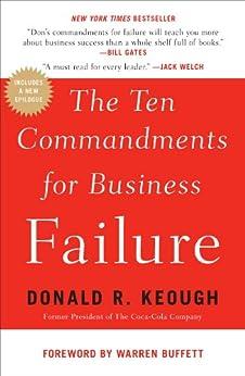 [Keough, Donald R.]のThe Ten Commandments for Business Failure