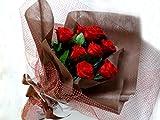 プリザーブドフラワー 赤バラ10本の花束 花器付き アレンジ 花 花束 ブーケ フラワー