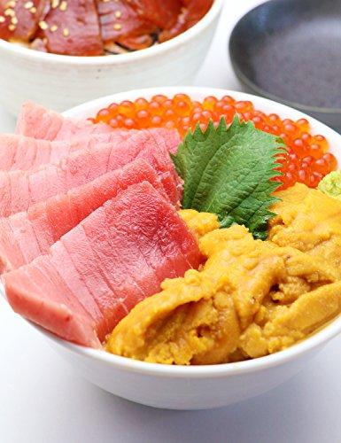 マグロ マグロ刺身 マグロ丼 ギフト 海鮮福袋(天然本マグロ中トロ、無添加ウニ、 北海道産いくら )計400g