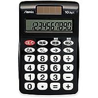 アスカ(ASMIX) ビジネス電卓ポケット ブラック C1009BK