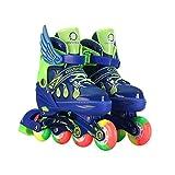 ラインスケートは、子供、男の子、全輪スケートライト、女の子、大人向けの面白い照明に調整できます。