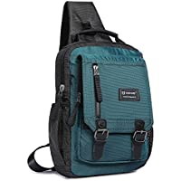 Sling Bag Cross Body Shoulder Backpack, Messenger Shoulder Bag Travel Chest Bag Outdoor Sport Pack Men Women