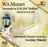 Mozart: Serenade in D, K.250, 'Haffner' by Netherlands Chamber Orchestra (2008-07-29)