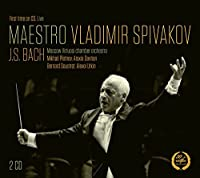 Maestro Vladimir Spivakov [Vladimir Spivakov, Bernard Soustrot; Vasily Kan; Moscow Virtuosi Chamber Orchestra] [MELODIYA: MELCD 1002301] by Bernard Soustrot (2014-12-24)