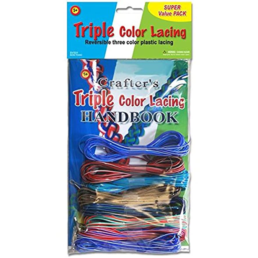 識字便益要旨Triple Color Lacing Super Value Pack- (並行輸入品)