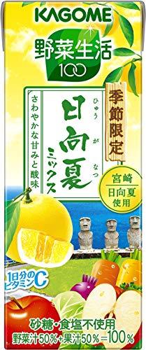 カゴメ 野菜生活100 日向夏ミックス 195ml×24本