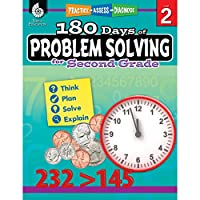 180 Days of Problem Solving for Second Grade (Practice-Assess-Diagnose: 180 Days of Practice, Level 2)