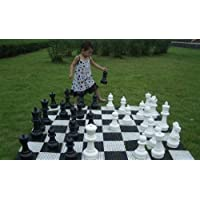 MegaChess Giant Plastic Chess Set with a 12