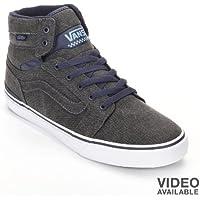 VansグレーSanctionスケート靴–メンズ