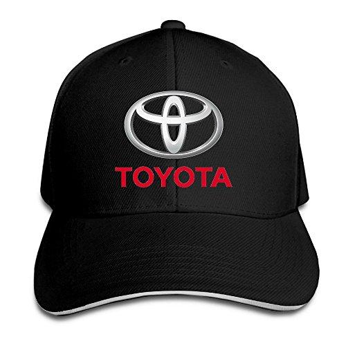 ieefta Toyotaロゴスナップバック帽子/野球帽子/ Peaked Cap US サイズ: One Size カラー: ブラック