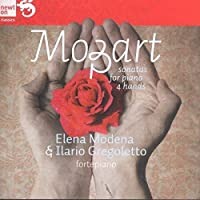 Sonatas for Piano Four Hands by WOLFGANG AMADEUS MOZART (2012-04-24)