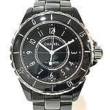 (シャネル)CHANEL H0685 メンズ腕時計 デイト J12 腕時計 セラミック メンズ 中古