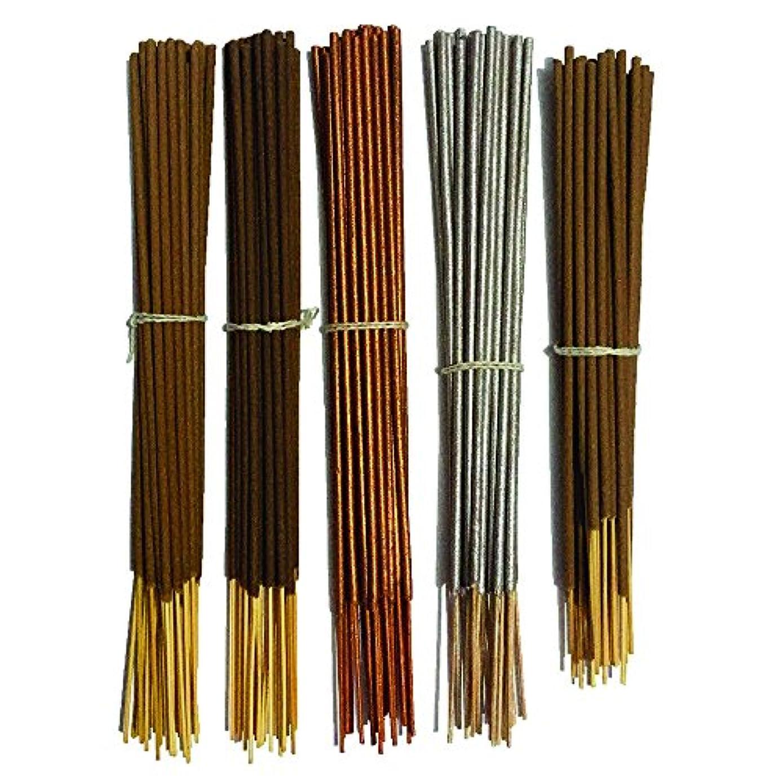 サリーほこりミュートInaki Incense Sticksプレミアム5 Fragrance Infused with Essential Oilsパック40 gm各 – Natural長持ちホーム&インドアFragrance (200グラムパック)