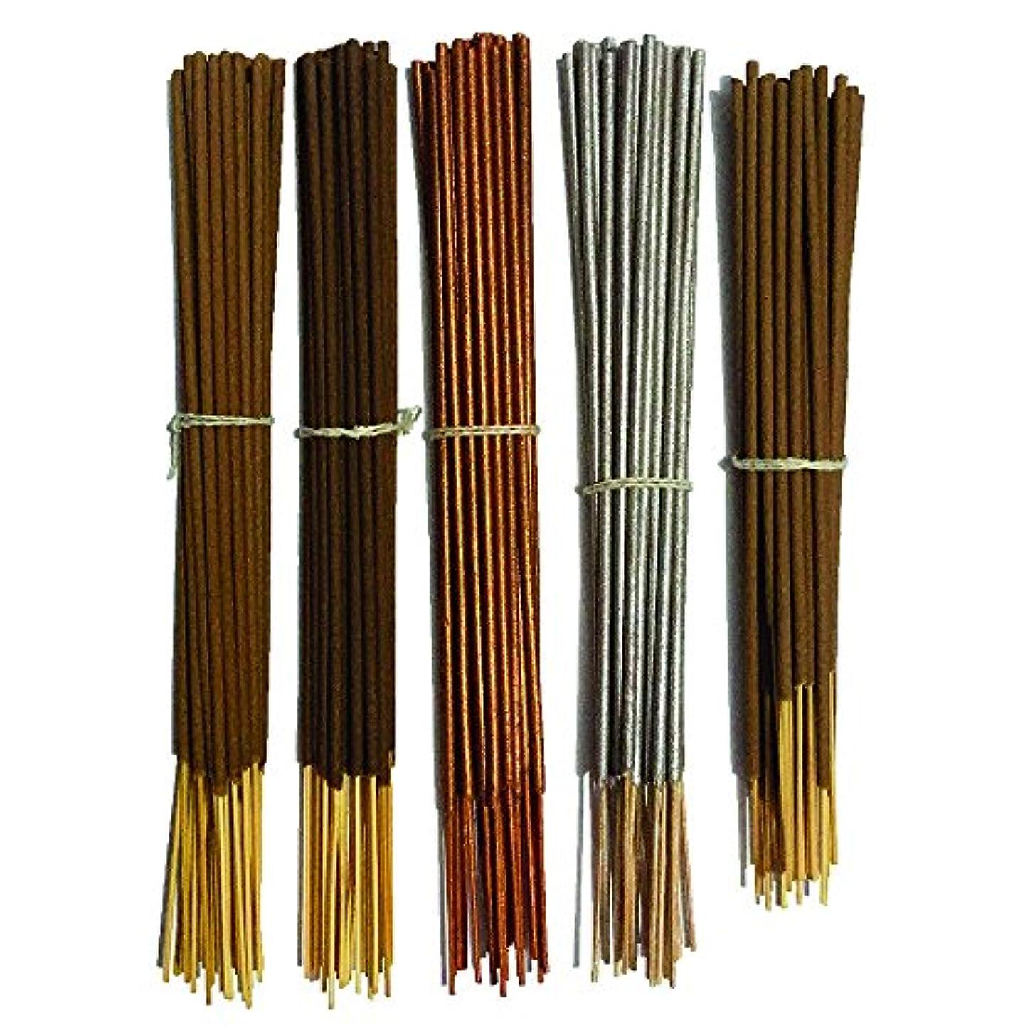 Inaki Incense Sticksプレミアム5 Fragrance Infused with Essential Oilsパック40 gm各 – Natural長持ちホーム&インドアFragrance (200グラムパック)