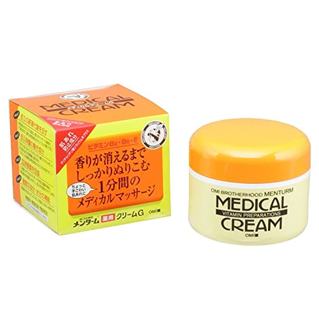 タイマー懐疑論軽メンターム薬用メディカルクリームG145g