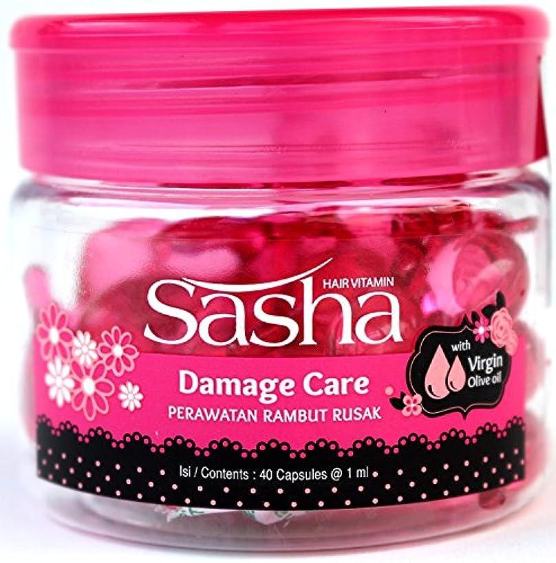 ホイップ軽減滑るサシャ(Sasha) ヘアビタミン(40粒入)4個セット [海外直送品][並行輸入品]