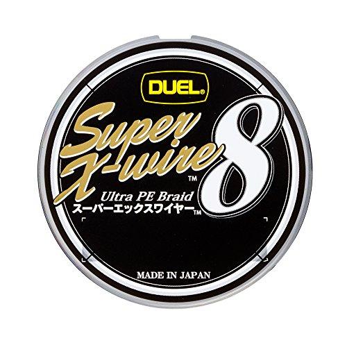 スーパーエックスワイヤー8 (Super X-wire 8) 10m毎5色色分け