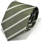 (スミスアンドスコット) Smith & Scott 全9柄 メンズ ビジネス ジャガード織 シルク 100% ネクタイ ストライプ柄 グリーン ボルドー ネイビー ntjaw-21