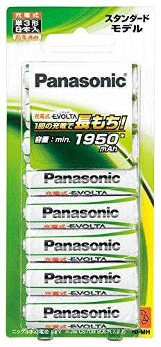 パナソニック 充電式エボルタ 単3形充電池 8本パック スタンダードモデル BK-3MLE/8B