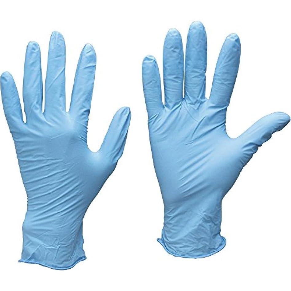 トワロン ニトリル極うす手袋 SS (100枚入) 529-SS ニトリルゴム使い捨て手袋