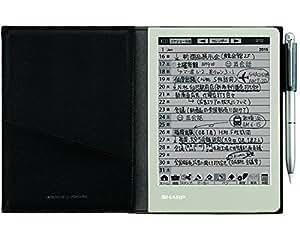 シャープ 電子ノート ブラック系 WG-S30-B