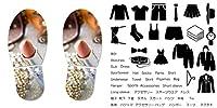 靴置きステッカー くつおきマーク くつおきステッカー 大人用 60×30cm 靴 マーク くつ 収納 シール ステッカー 整理整頓 ウォールステッカー ラベルシール 収納 子供 便利グッズ 片付け shoe2wssxx-000908-ws