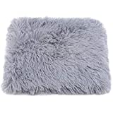 LALANG Cats Dogs Winter Self-Warming Blanket Soft Pet Bed Pad for Outdoor and Indoor(Light Grey,L)