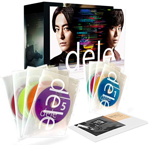 dele(ディーリー)Blu-ray PREMIUM undeleted EDITION【8枚組】