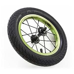 ストライダー向け カスタムハンドルバー DADDY LAB ダディラボ X-WHEEL Light+タイヤセット (Green)